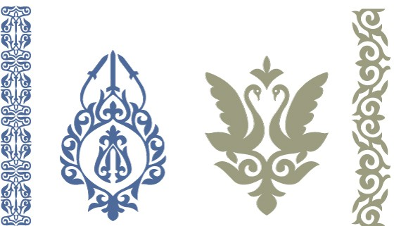 Казахские орнаменты