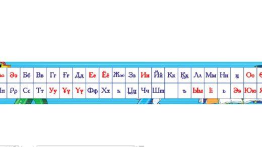 Стенд алфавит в длину [CDR]
