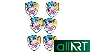 Герб, логотип Талдыкоргана в векторе [CDR]