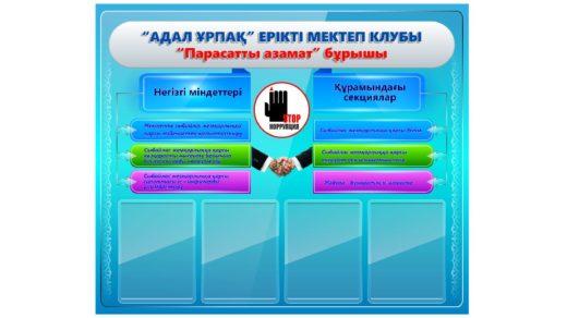 Стенд против коррупции РК [CDR]