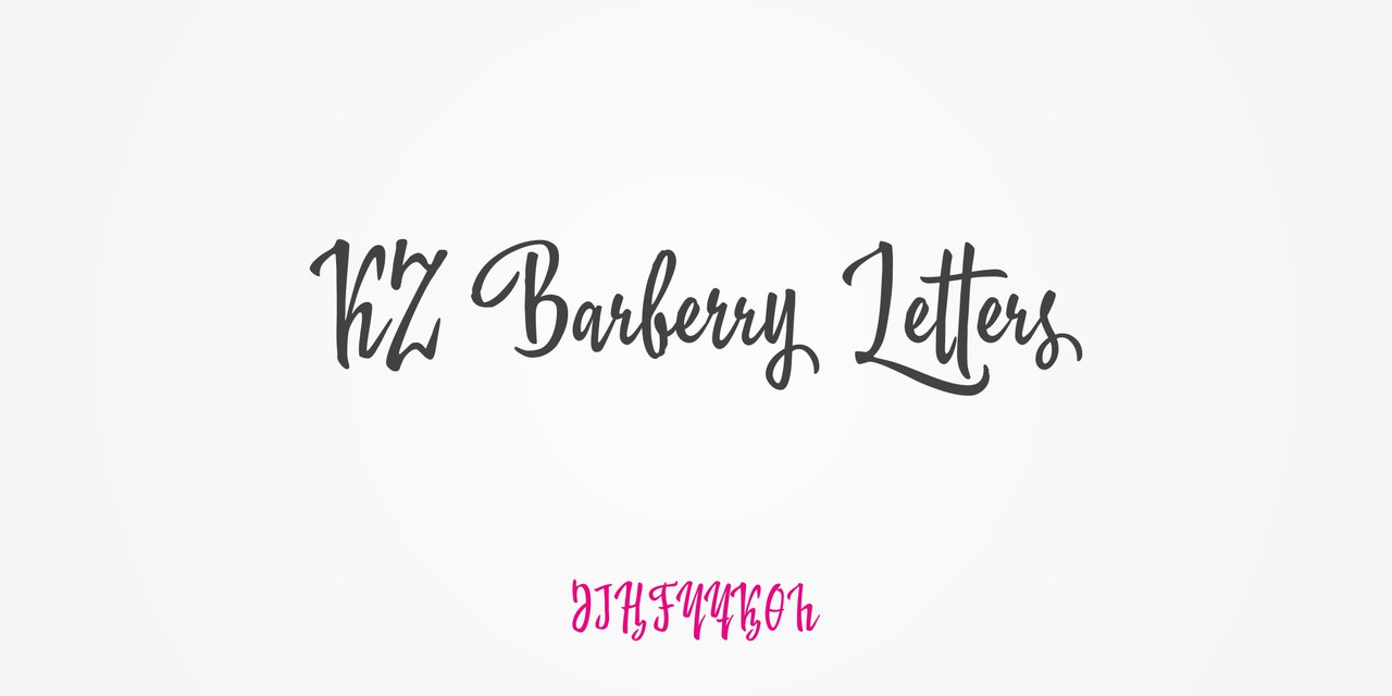 KZ Barberry (2 fonts)
