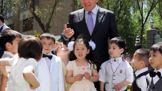 Фото с президентом Н.А.Назарбаев [JPG]