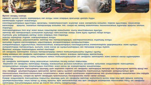 Стенд техника безопасности пожаротушение, Ортты сондыру [CDR]