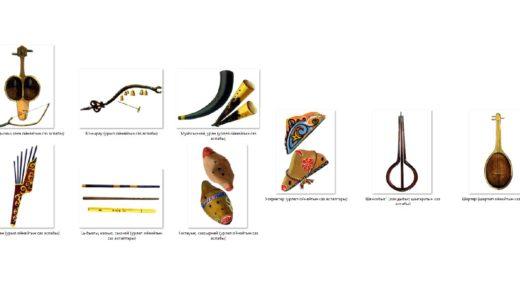 Список казахских инструменты в высоком качестве [JPG]