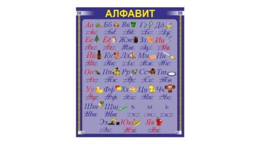 Стенд алфавит для начальных классов [CDR]