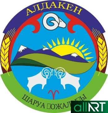 Логотип Алдакен в векторе [CDR]