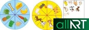 Стенд математика әлемінде, табиғат бұрышы, буквы с картинками для садика [CDR]