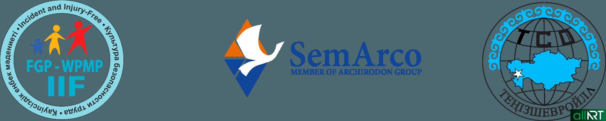 Логотип Культура безопасности труда, тенизшевроил, semarco в векторе [CDR]