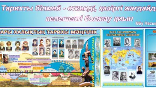 История Казахстана по шкале времени в векторе, временная линия развития [CDR]