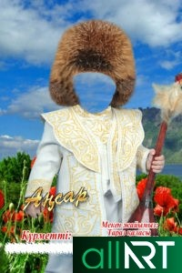 Коллаж Казахстана в стиле беркута [CDR]