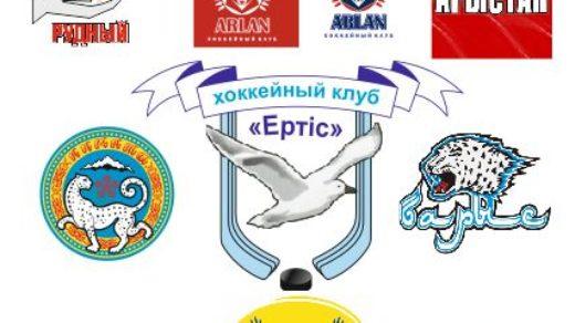 Логотипы казахстанских хоккейных команд в векторе [CDR]