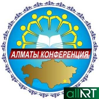 Логотип Алматы конфиренции [CDR]