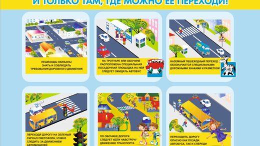 ПДД для детей, как правильно переходить дорогу [CDR]