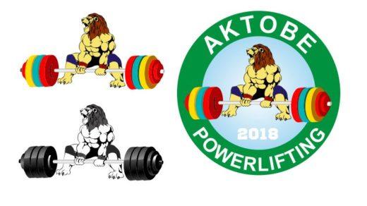 Логотип в векторе Aktobe powerlifting [CDR]