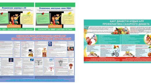 Стенд Профилактика сахарного диабета, онкологических заболеваний, психическое здоровье [CDR]
