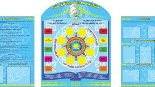 Стенд для учебного заведения школы, универа [CDR]