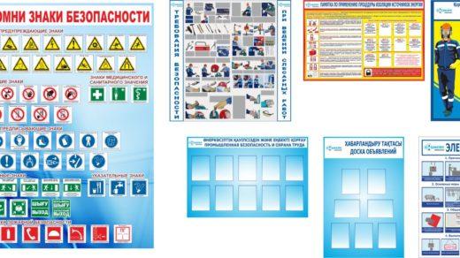 Знаки безопасности, Охрана труда, техника безопасности [CDR]