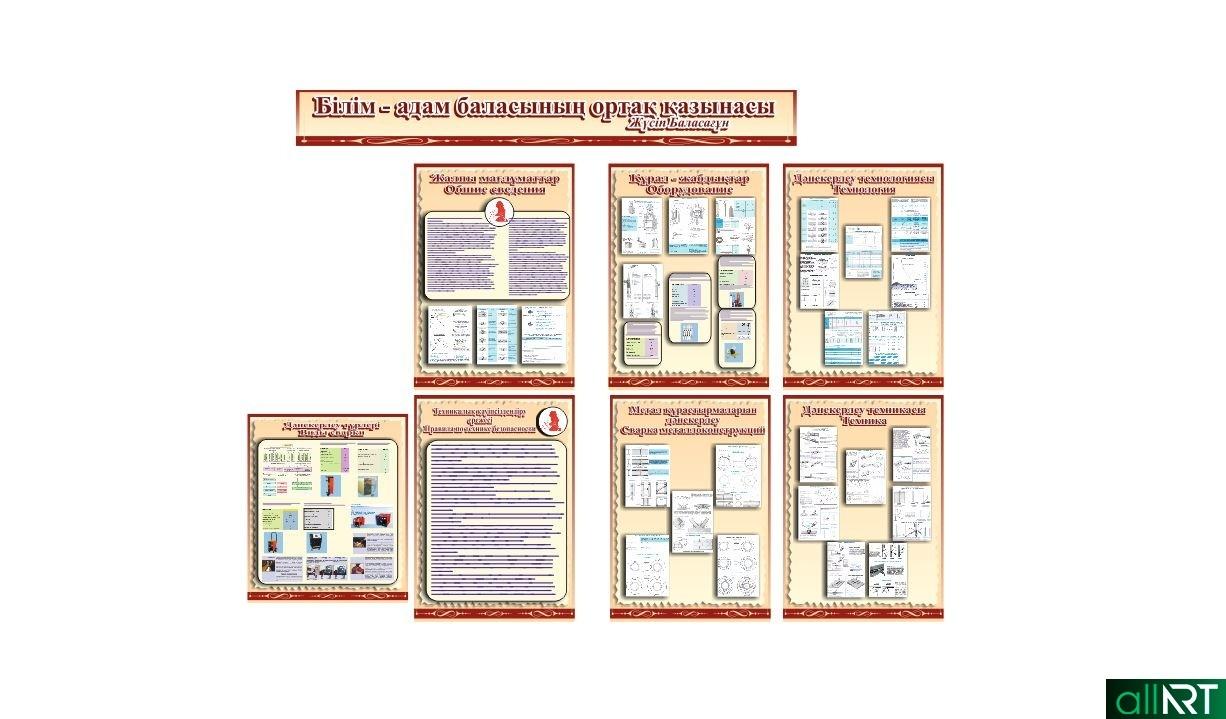 Стенд для учебного заведения, сварочные работы, технология сварки, правила сварки [CDR]