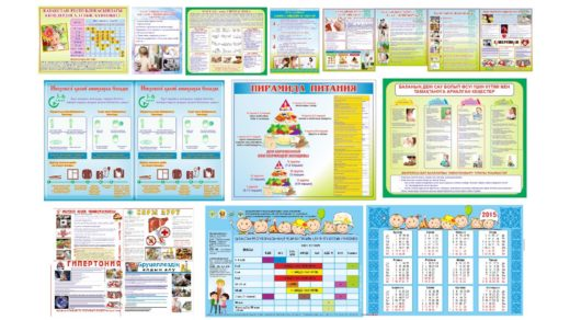 Комплект медицинских баннеров, стендов, плакатов в векторе [CDR]