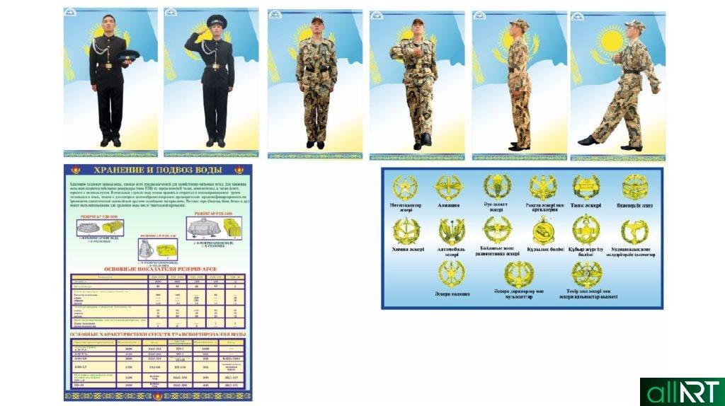 Эмблемы военных подразделений в векторе [CDR]