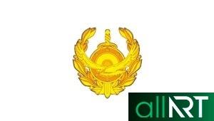 Логотип КНБ в векторе [CDR]