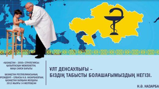 Баннер Казахстан 2050 гражданство, индустриализация, медицина [TIF]