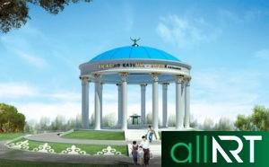Главное здание КТЖ, поезд тальго, Казахстан темир жолы [CDR]