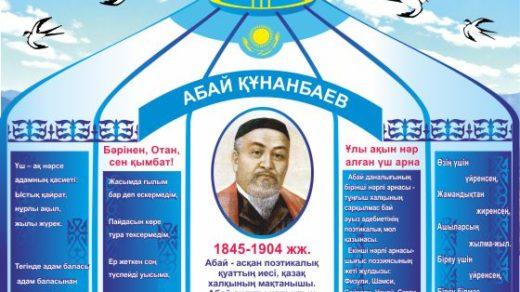 Стенд к Абая Кунанбаев личности РК в векторе [CDR]