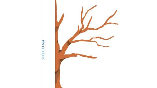 Дерево для садика в векторе [CDR]
