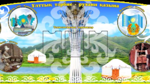 Школьный стенд в коридор РК для Казахстана [CDR]