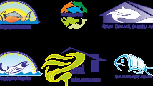 Логотип рыбы Арала [CDR]