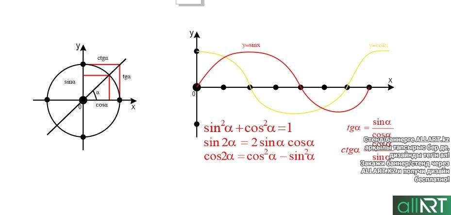 Шаблон для объемного стенда геометрия [CDR]