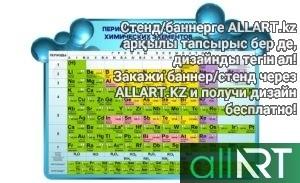 Стенды для кабинета химии [CDR]
