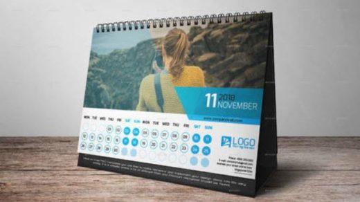 Календарь-домик настольный перекидной