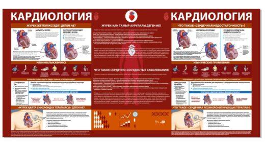 Стенд Кардиология на казахском и русском [CDR]
