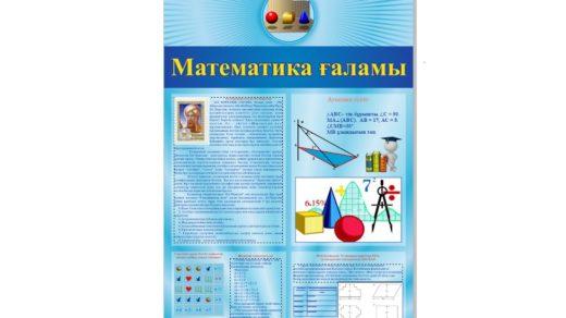 Стенд математика ғаламы [CDR]