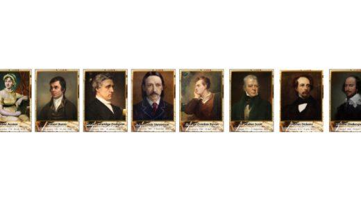 Портреты английских писателей [CDR]