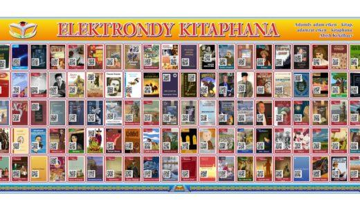 Стенд ELEKTRONDY  KІTAPHANA, электронная библиотека [CDR]