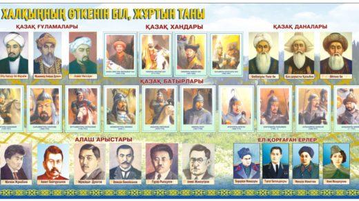 Стенд личности Казахстана [CDR]