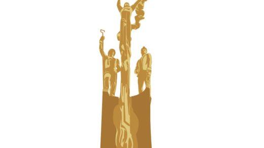 Памятник шахтерам города Хромтау [CDR]