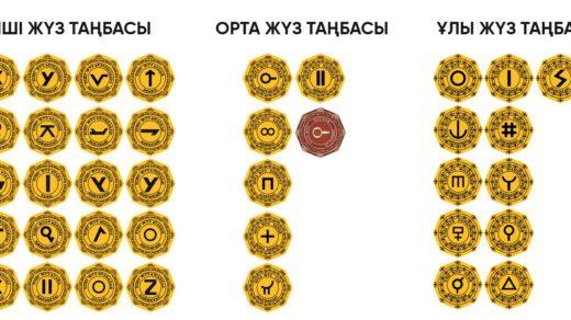 Родословные знаки, тамга, тамбалары, символ рода, ру, шежире, таңбасы, ру логотип в векторе [CDR]