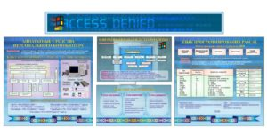 Стенд для кабинета информатики [CDR]