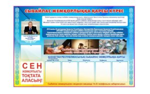 Баннер стенд коррупция Казахстана РК [CDR]