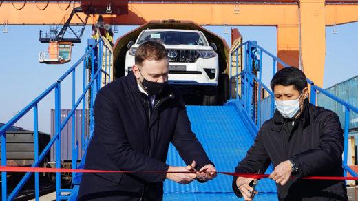 Автомобили Тойота теперь будут поставляться в Казахстан в два раза быстрее
